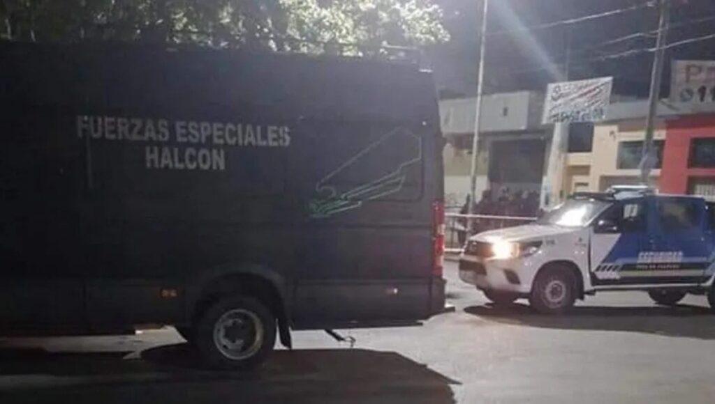 Toma de rehenes Caseros Grupo Halcón