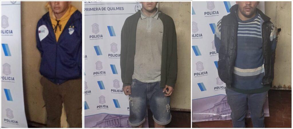 Quilmes Detenidos Crimen Chico 17 Años