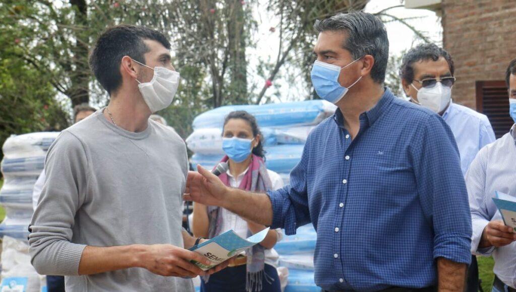 Jorge Capitanich, campaña algodonera
