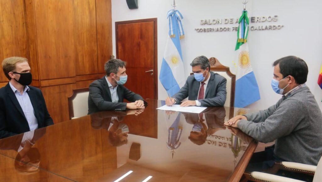 Jorge Capitanich con Ignacio Lamothe (CFI)