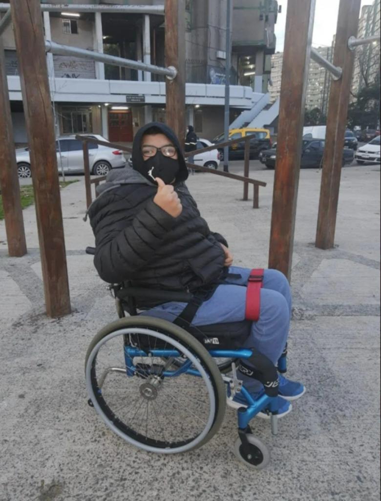 """""""Bauty está totalmente convencido de que va a volver a caminar"""", contó su padre."""