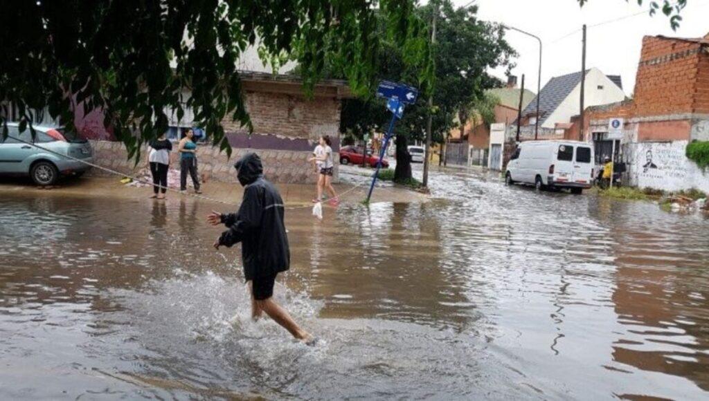 Obra para evitar inundaciones en La Matanza